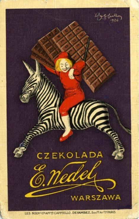 Rola ilustracji w brandingu 4/4 brand design Chłopiec na zebrze