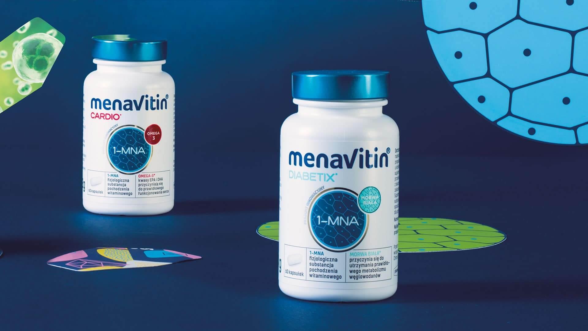 MenaVitin kapsułki - opakowanie