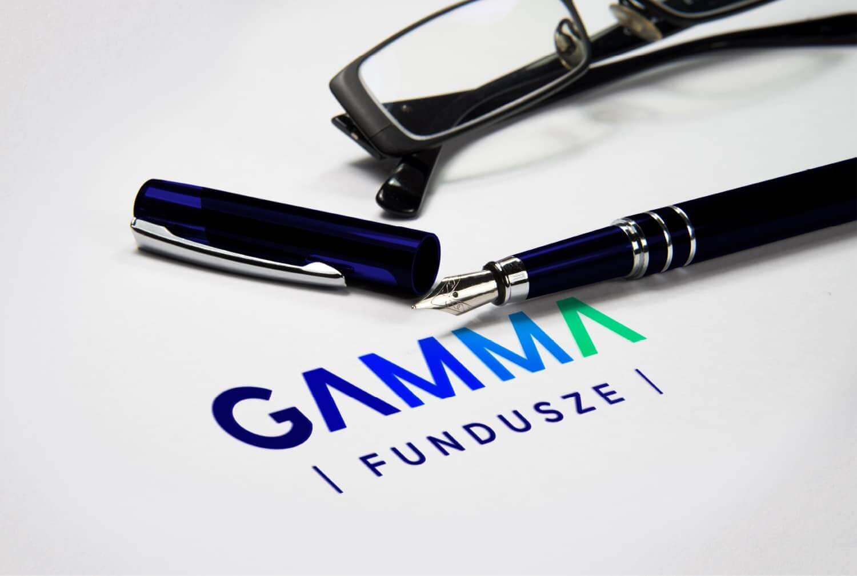 Gamma Fundusze identyfikacja wizualna