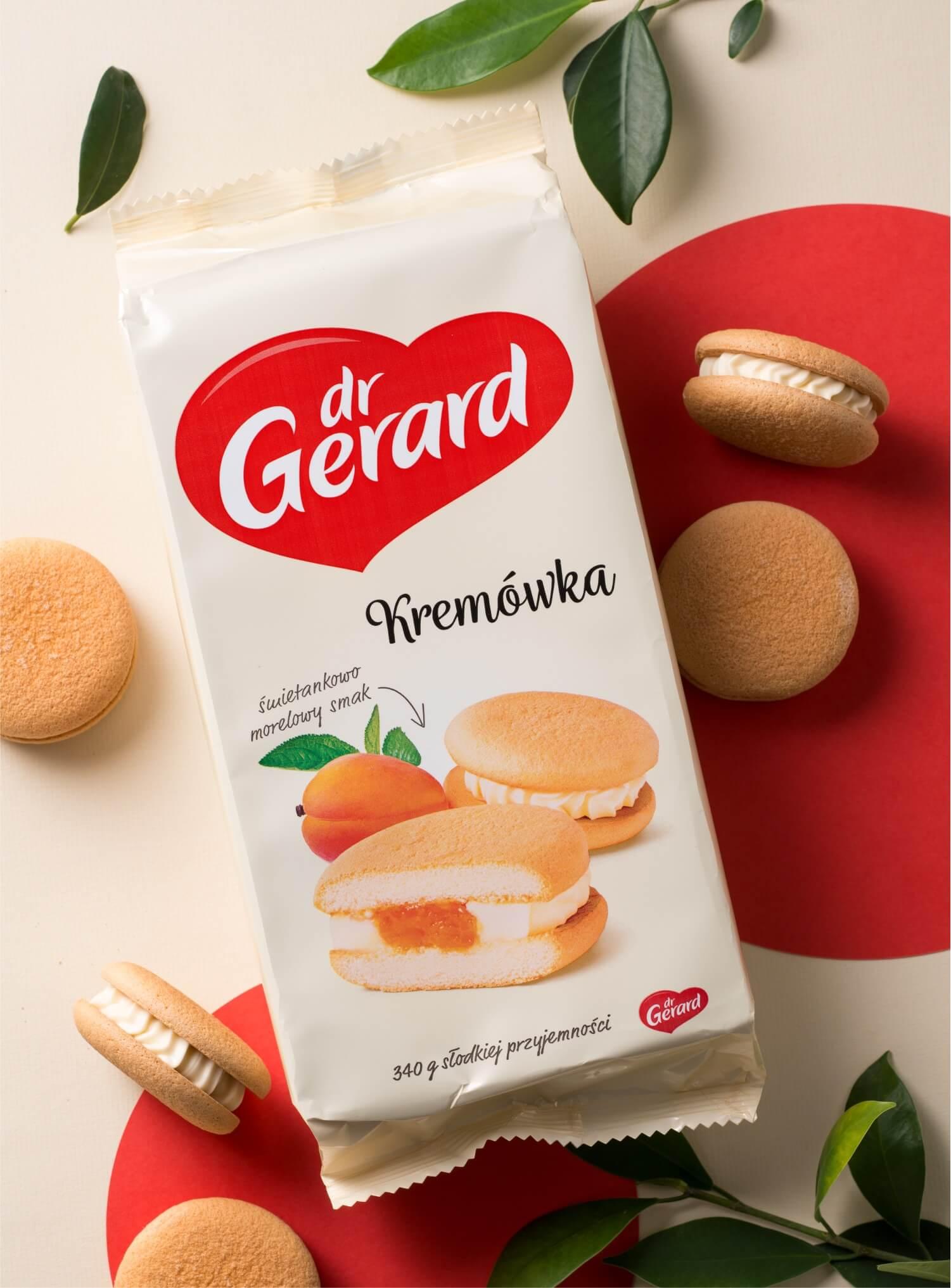 Nowa wizualizacja marki Dr Gerard