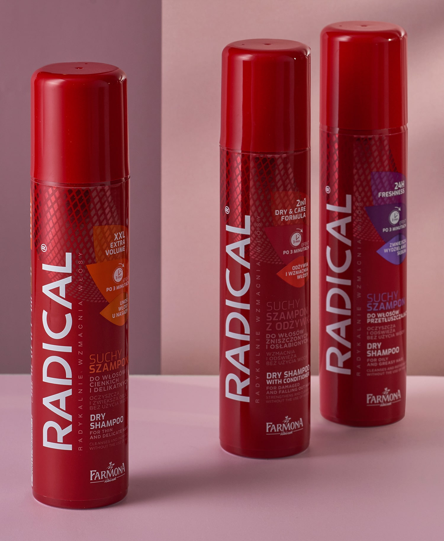 Radical - produkty
