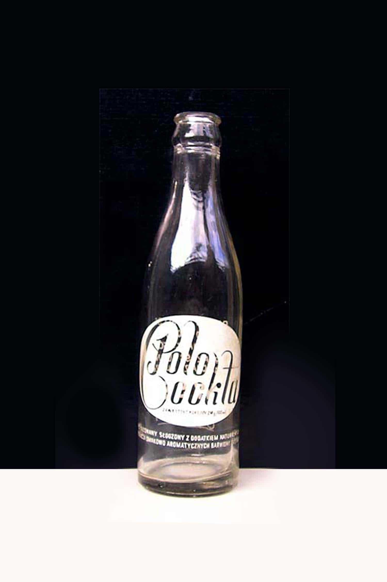 stara butelka Polo Cockta